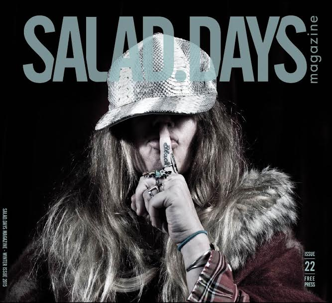 1st cover of Salad Days Mag #22 revealed!