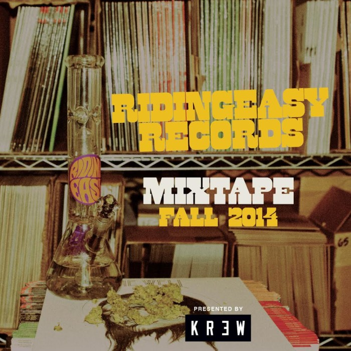 RidingEasy Records x KR3W Fall 2014 Mixtape Free Download!