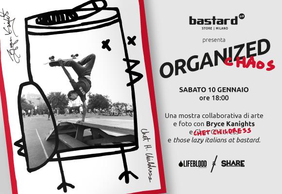 Organized Chaos – skateboarding, arte e fotografia con Bryce Kanights e Chet Childress