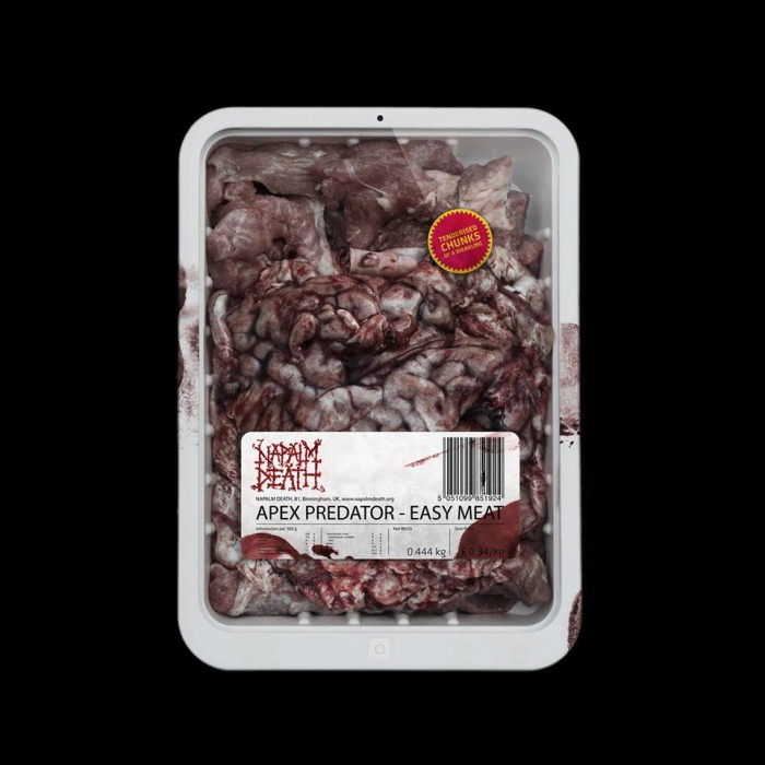 Napalm Death  'Apex Predator – Easy Meat'