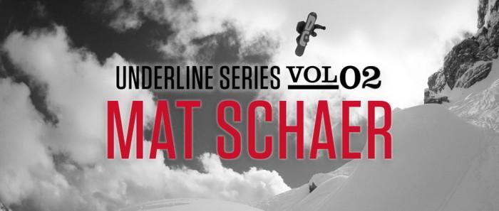DC Shoes: The Underline Series – Volume 2: Mat Schaer