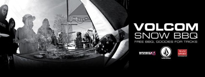 Feb 15 Volcom Snow BBQ, Monkey Snowpark, Piani di Bobbio, LC