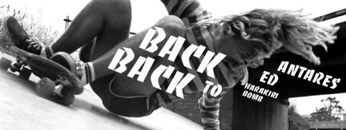 Ve 20.02: Back to Back: Antares + Ed + Harakiri Bomb