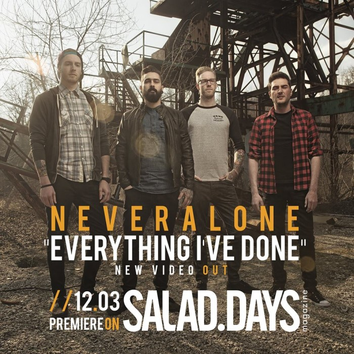 I NEVERALONE PUBBLICANO 'EVERYTHING I'VE DONE' DALL' ALBUM 'SAME OLD SHIT'