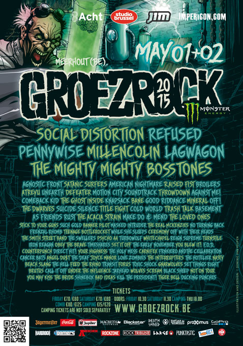 Groezrock: welcome Angel Du$t and The Acacia Strain