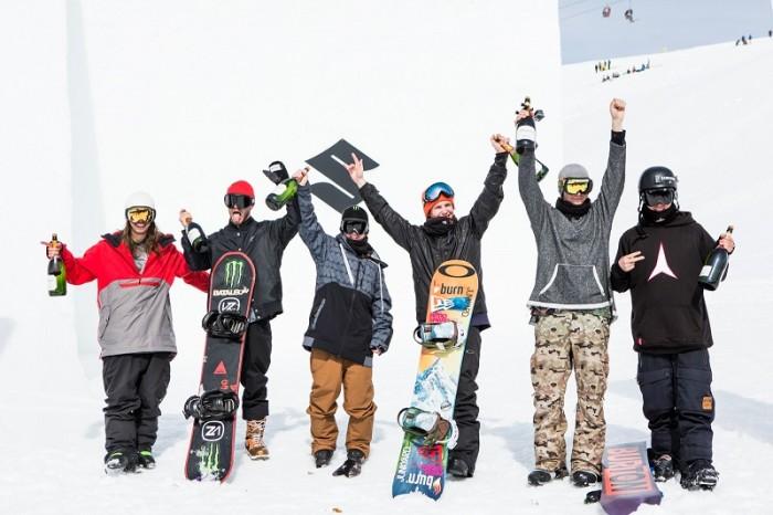 Suzuki Nine Knights – I vincitori freeski e snowboard 2015