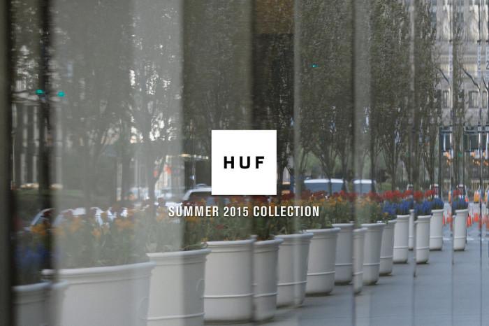 HUF: Lookbook // Summer 2015 Collection