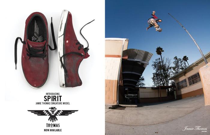 The 'Spirit' – new Jamie Thomas clip for his signature shoe