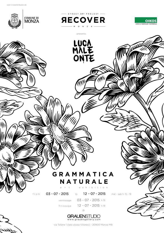 Lucamaleonte – Grammatica Naturale @ Grauen Gallery x Recover Monza