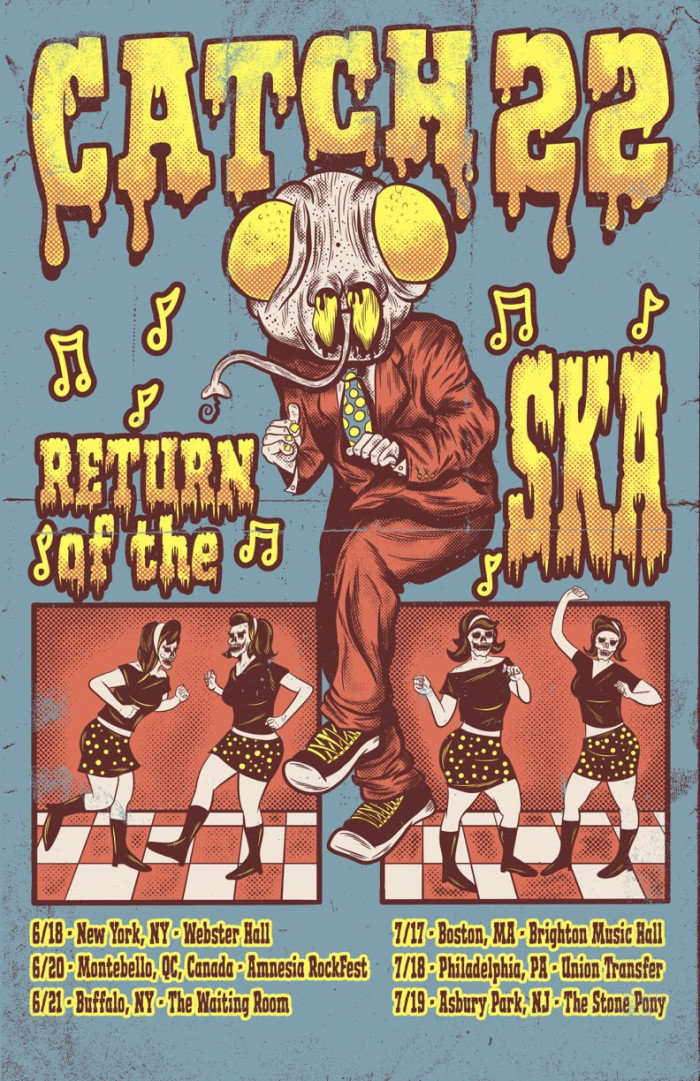 Legendary Ska-Punks Catch 22 return with first shows in 3 years