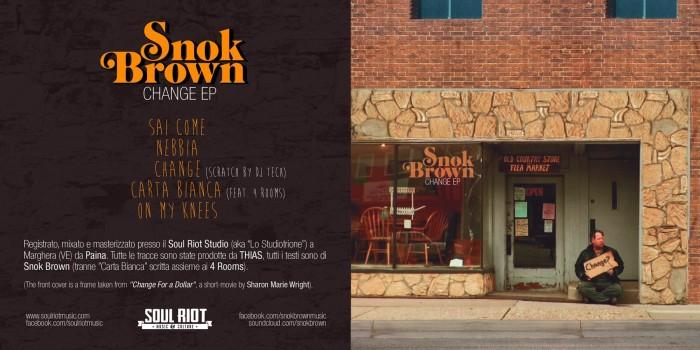 Nuovo EP in free download per Snok Brown (prod.Thias): 'Change EP'