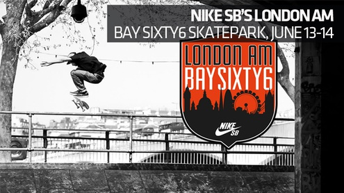 The Nike SB London AM returns to Notting Hill for the second stop of the Nike SB European Series.
