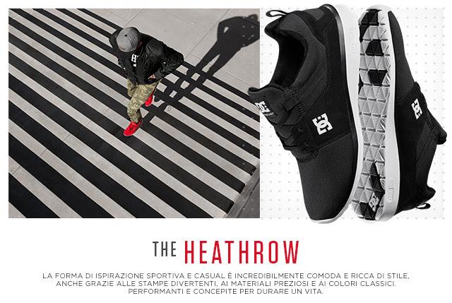 DC Shoes / The Heathrow – performanti e concepite per durare un vita