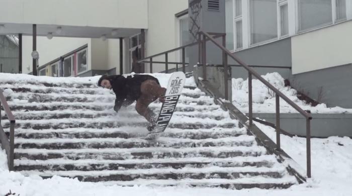 Rome Snowboards 'Beer & Rails' teaser
