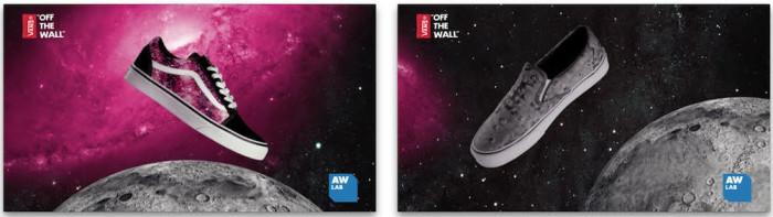 Vans presenta il Moon & Cosmic Cloud pack in esclusiva per AW LAB