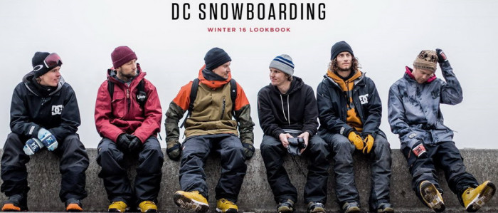 DC Snowboarding Outerwear Collection & Lookbook Winter 2016