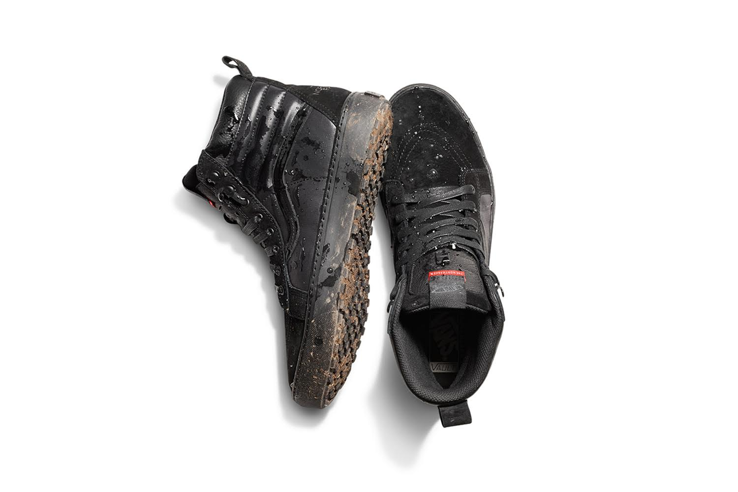 5e668c5fd2f0 The Vault by Vans x The North Face partnership brings forth the Desert  Chukka MTE LX in Black