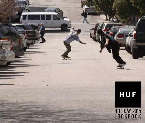 E' uscito il nuovo look book di HUF per Holiday 15