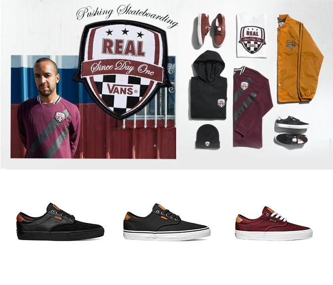 Vans Chima Ferguson and Real collaboration