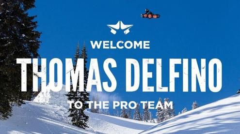 Rome SDS Global Pro Team welcomes Thomas Delfino
