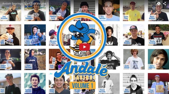 Andale Bearings Team Edit Volume 1
