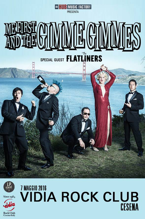 ME FIRST AND THE GIMME GIMMES & THE FLATLINERS IN TOUR EUROPEO DA APRILE