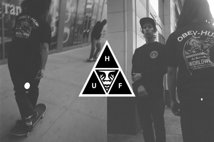 Huf x Obey Collaboration