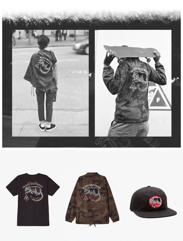 Huf x Obey Web Exclusive Capsule