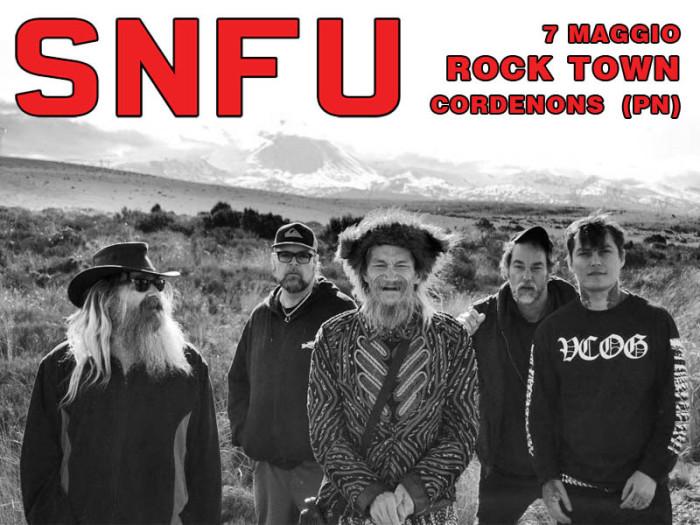 SNFU: il 7 maggio al Rock Town di Cordenons (PN)