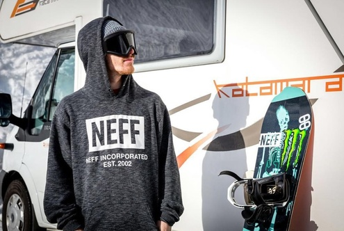 Neff Headwear welcomes Ethan Morgan to Snow Team