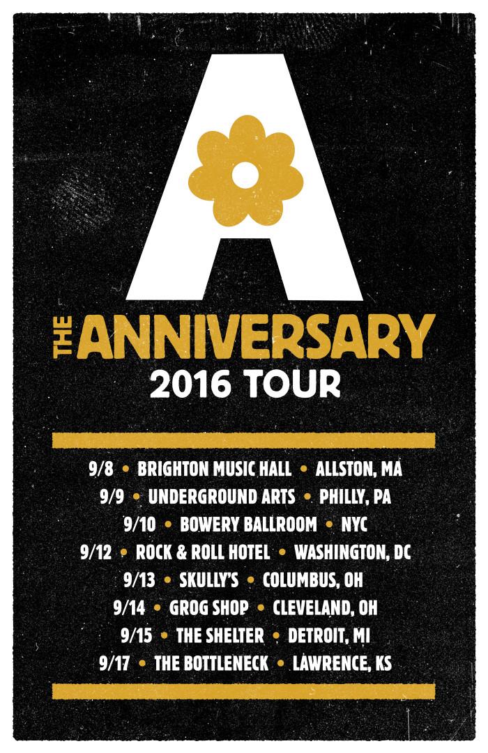 The Anniversary Announce September Reunion Tour