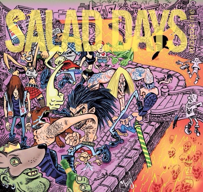 Sean Taggart x Slander x Salad Days Mag #27