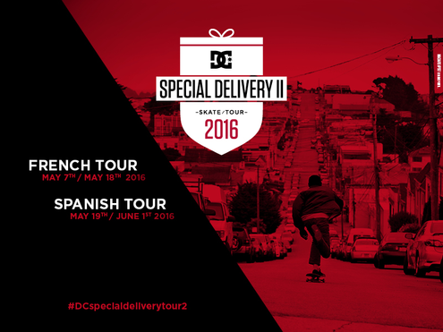 DC's Special Delivery Skate Tour II