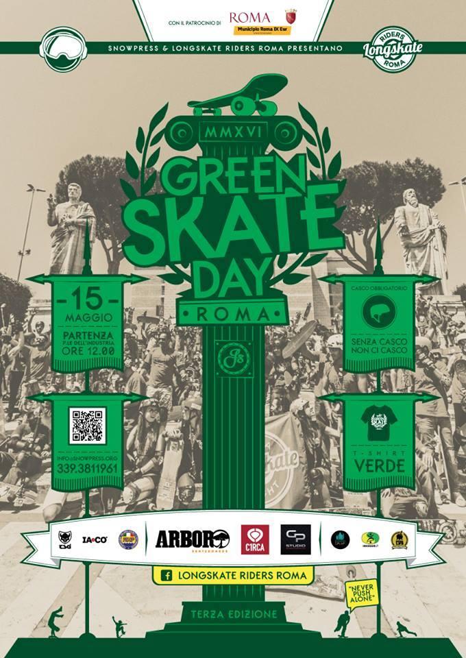 C1rca x Green Skate Day Roma 2016