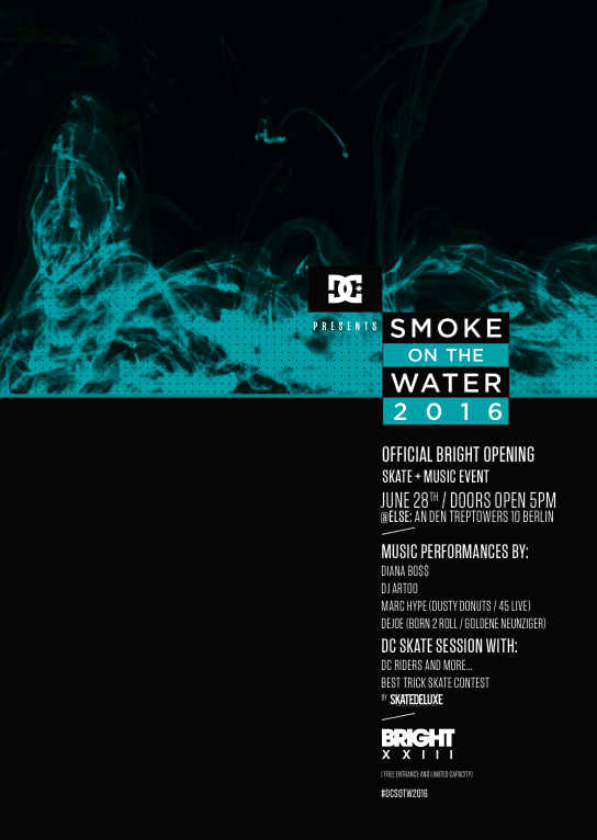 DC – SMOKE ON THE WATER 2016 – BERLIN