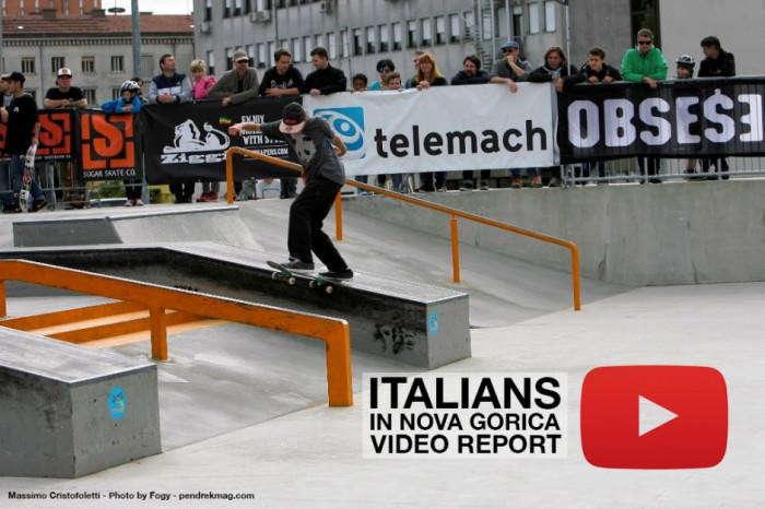Italiani a Nova Gorica video report