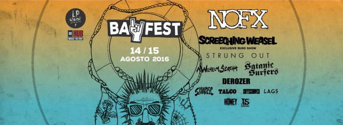 Bay Fest: ecco la line up completa!