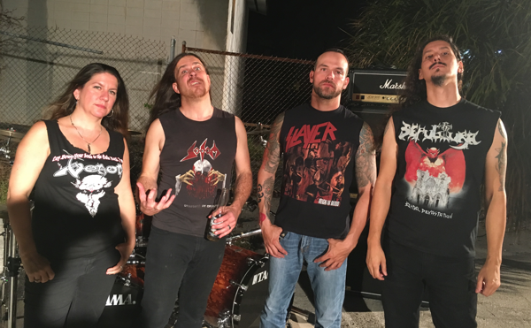 Gruesome shares 'Dimensions Of Horror' video