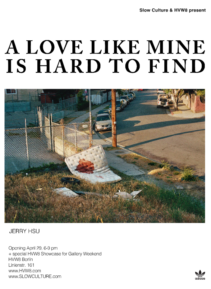 JERRY HSU / 'A LOVE LIKE MINE IS HARD TO FIND'