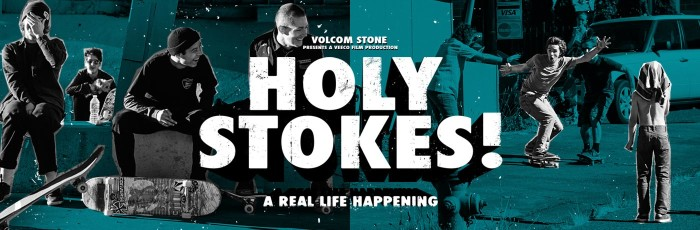 'Holy Stokes!' | New Volcom skate movie available June 7th