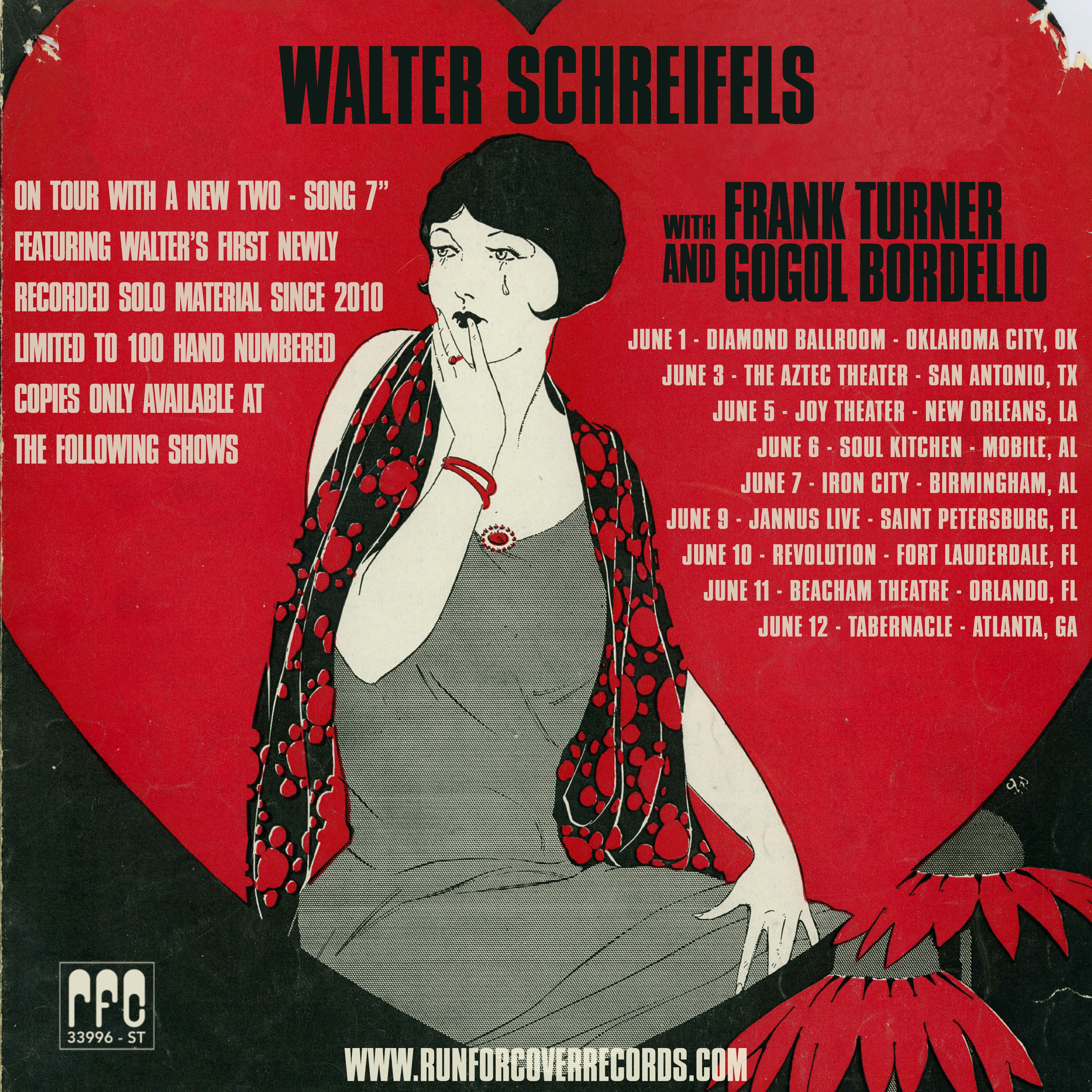 Walter Schreifels Announces New 7″