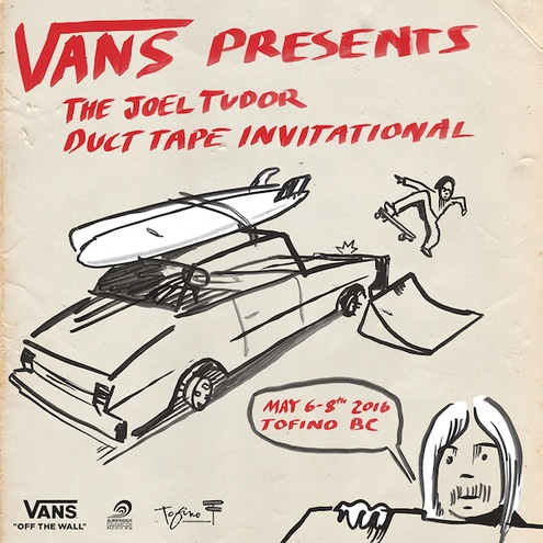 Vans Joel Tudor Duct Tape Invitational descends upon Vancouver Island, B.C.
