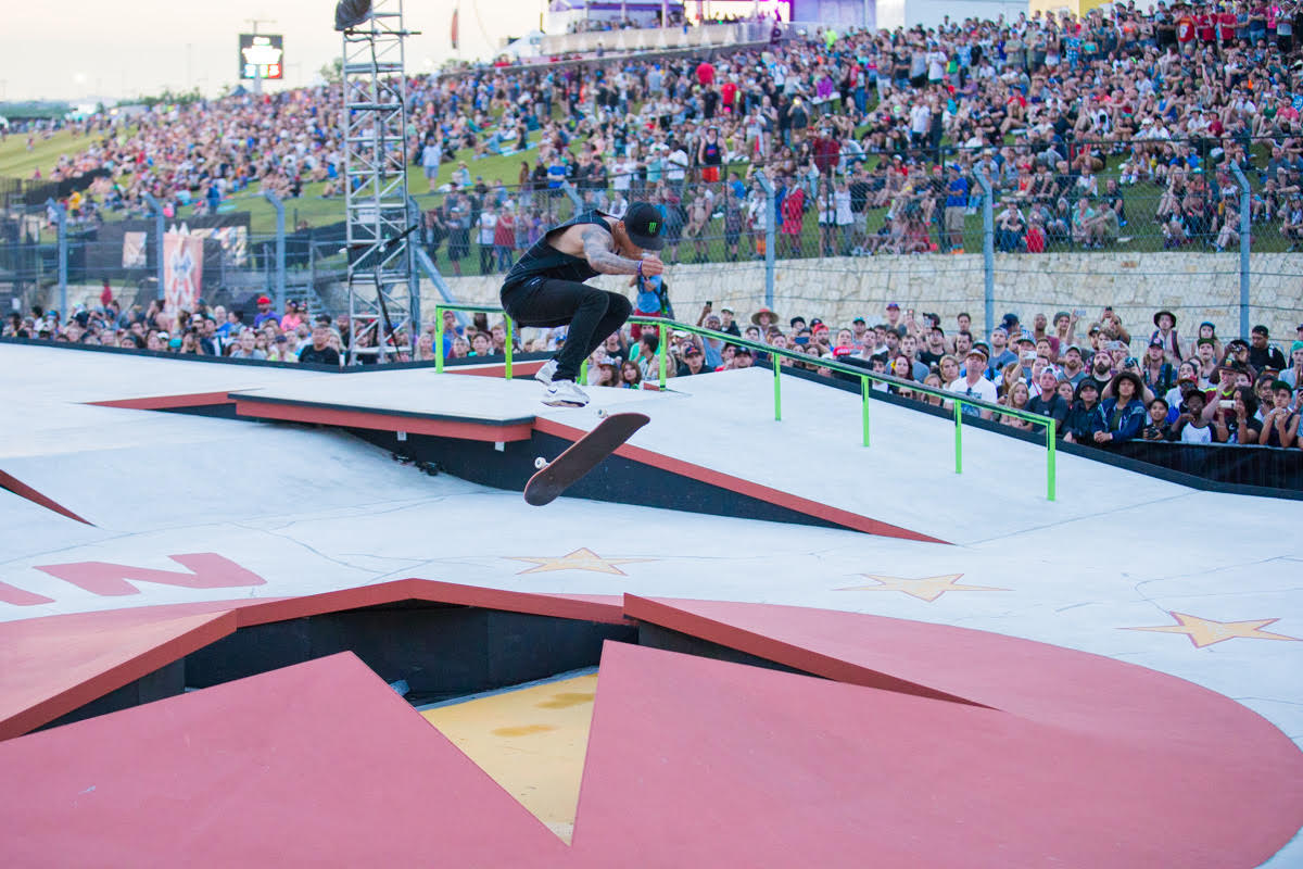-1. Huston came into today s final as the defending champion after winning  gold in Men s Skateboard Street at X Games Austin 2015. d76c4a32f5c