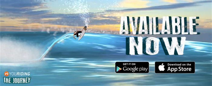THE MOST IMMERSIVE SURF MOBILE GAME CREATED BY YOURIDING AVAILABLE NOW