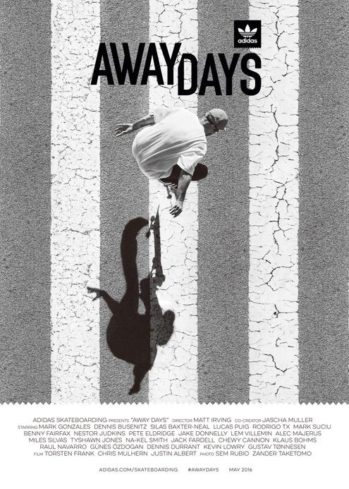 adidas Skateboarding release 'Away Days' & new clips