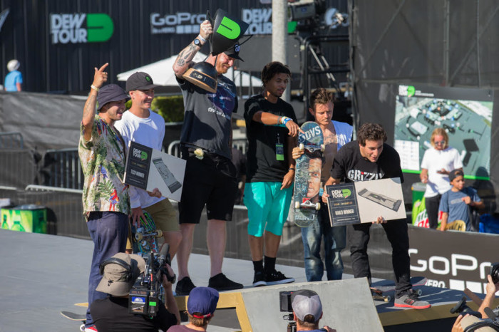 MONSTER ENERGY'S TREY WOOD TAKES 1st PLACE WITH BLIND SKATEBOARDS IN THE TEAM CHALLENGE AT DEW TOUR LONG BEACH 2016