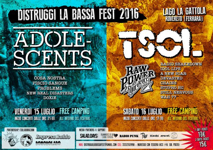 Distruggi La Bassa Festival – edition 2