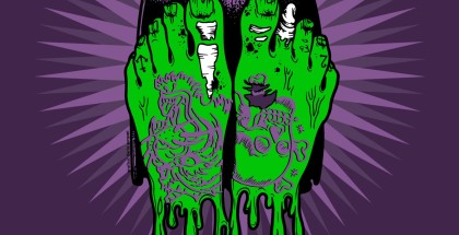 Locandina Skate rock ink