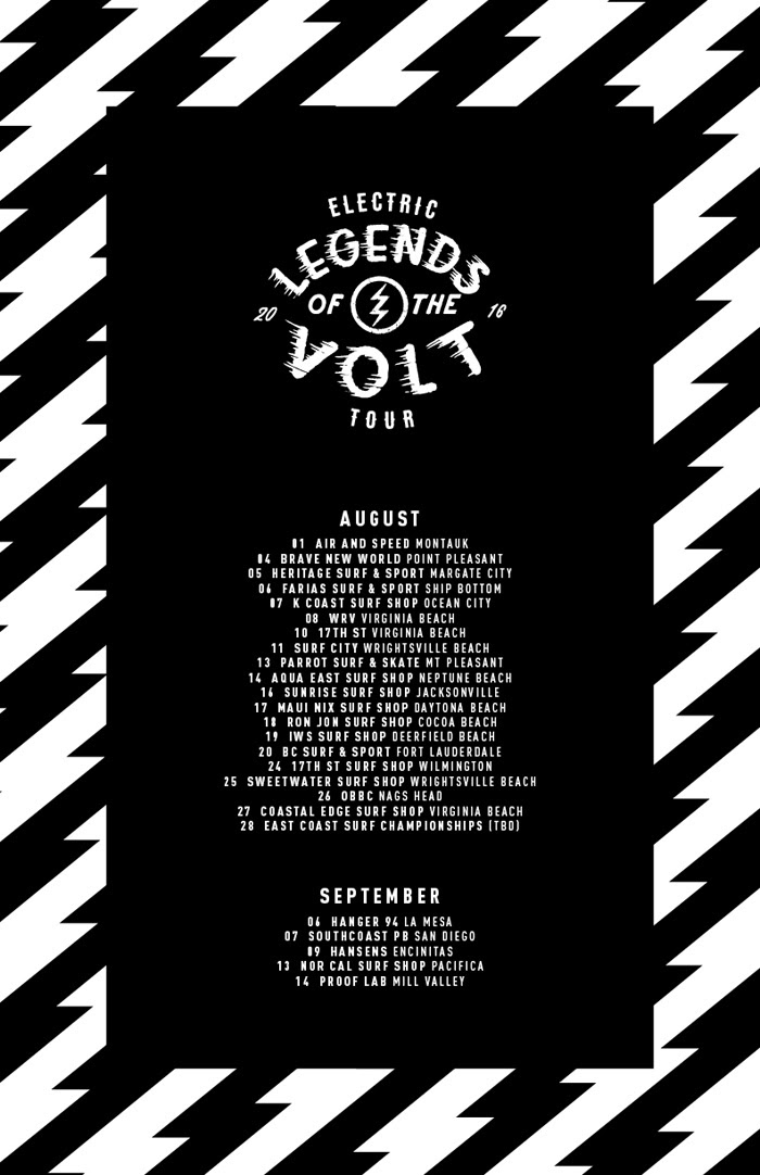 Electric / The Legends of the Volt Tour