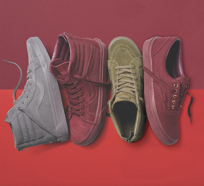 Vans debuts monochromatic footwear offering for Fall